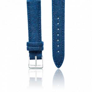 Correa Tweed Azul & Acero