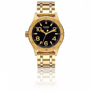 Reloj The 38-20 Dorado/Negro A410-2042
