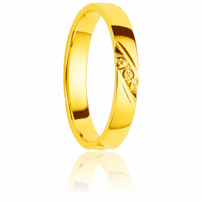 Alianza Covenas 4 mm Oro Amarillo 18K