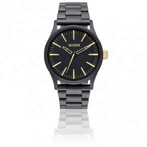 Reloj The Sentry 38 SS Negro/Dorado A450-1041
