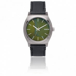 Reloj The Time Teller Gunmetal/Green Oxyde/Black A045-2070