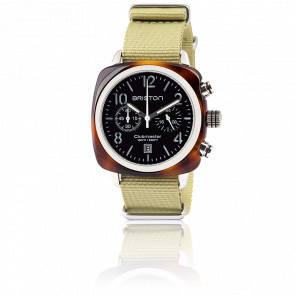 Reloj Clubmaster Chrono Date tortoise shell Negro