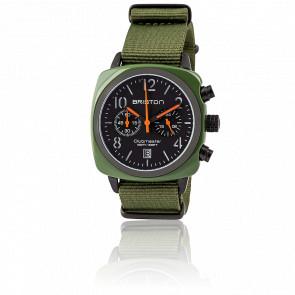 Reloj Clubmaster Chrono Date Verde