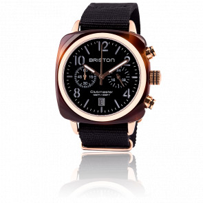 Reloj Clubmaster Chrono Date tortoise shell oro rosa
