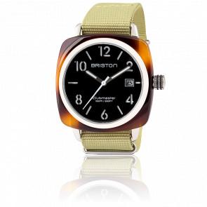 Reloj Clubmaster HMS Date tortoise shell negro