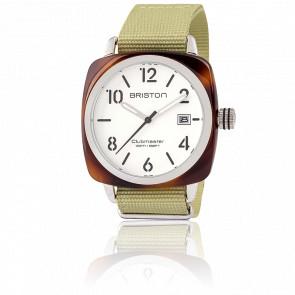 Reloj Clubmaster HMS Date tortoise shell blanco