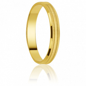Alianza Dangriga 4 mm Oro Amarillo 18K