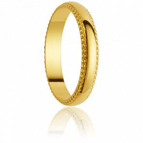 Alianza Placencia 2,5 mm Oro Amarillo 18K
