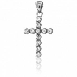Colgante Kelya Oro Blanco & Diamantes