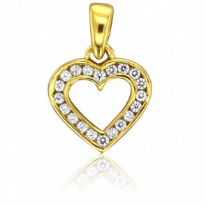 Colgante Lovediam Oro Amarillo 18K & Diamantes