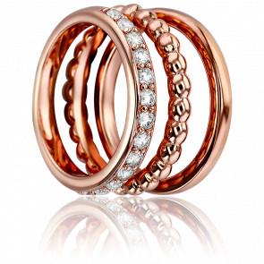 Anillos Fantasía 3 anillos Oro Rosa