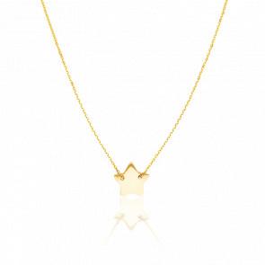 Collar Jolie Estrella Oro Amarillo