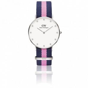 Reloj Classy Winchester Lady Silver 34 mm