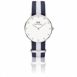 Reloj Classy Glasgow Lady  Silver 34 mm