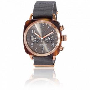 Reloj Clubmaster Chrono Gold Gris Tortoise