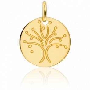 Colgante Árbol de la Vida Oro Amarillo 18K Amor