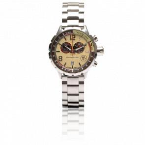 Reloj ChronoS Beige