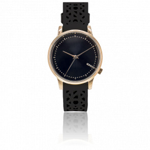 Reloj Estelle - Cutout Black Rose
