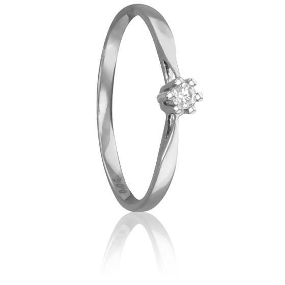 8cae9dd516e7 Anillo de compromiso Oro y Diamante 0.04k Emanessence - Ocarat