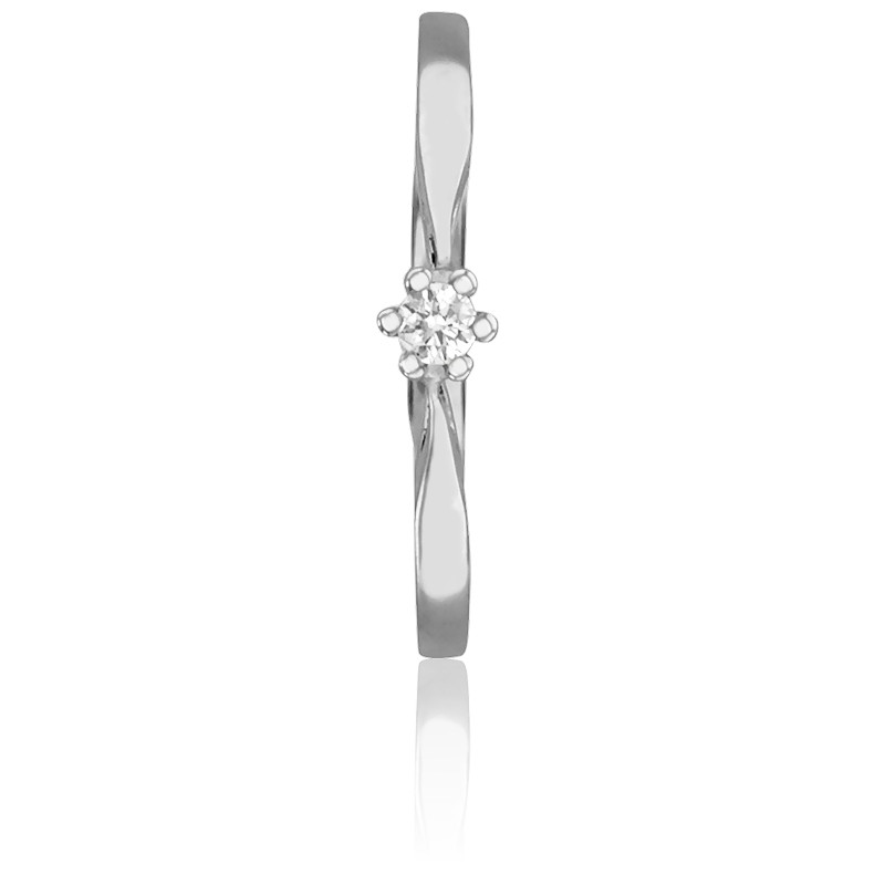 82e15603700d Anillo de compromiso Oro y Diamante 0.04k Emanessence - Ocarat