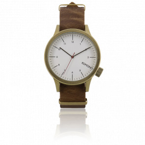 Reloj Magnus Saddle Brown