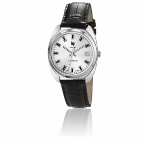 Reloj GDG Electrónico Cromo & Plata