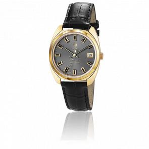 Reloj GDG Electrónico Dorado y Negro