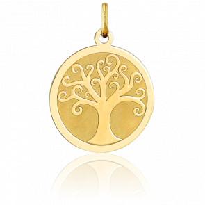 Colgante Árbol de la Vida Arabesco Oro Amarillo 18K, 2.85gr