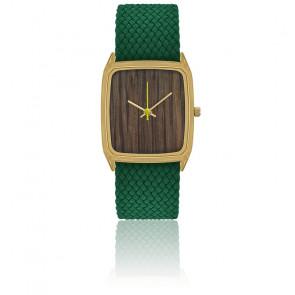 Reloj Chêne Millénaire Fluo Correa Verde