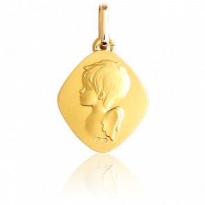 Medalla Ángel de Oro Amarillo 18K