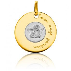 Medalla Bicolor Mi Ángel de la Guarda