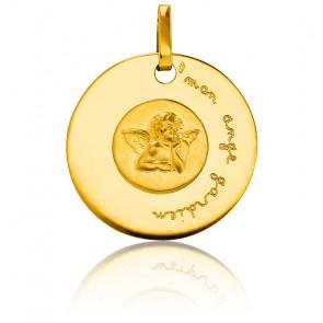 Medalla Ángel de la Guarda Oro Amarillo