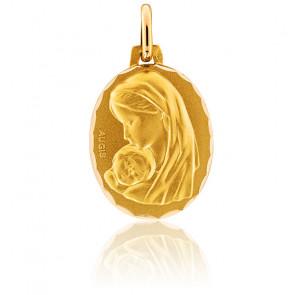 Medalla ovalada Santa Madona