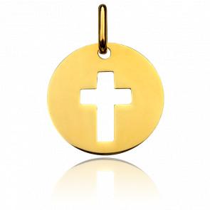 Medalla Cruz calada