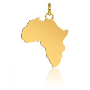 Colgante África 17 x 19 mm de Oro Amarillo de 9 quilates