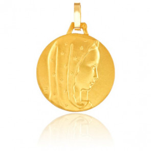 Medalla Vigen María Oro Amarillo