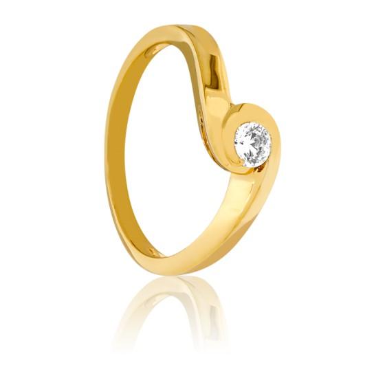 f0a952ee88b0 Anillo de Compromiso Oro Amarillo Thalassa - Bellon - Ocarat