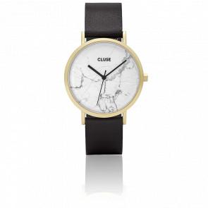 Reloj La Roche Gold White Marble/Black CL40003