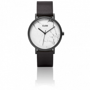 Reloj La Roche Full Black/White Marble CL40002