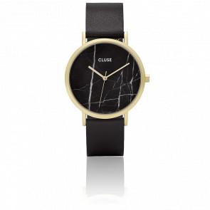 Reloj La Roche Gold Black Marble/Black CL40004