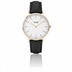Reloj La Bohème Gold White/Black CL18406