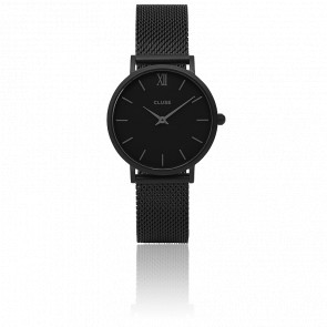 Reloj Minuit Mesh Full Black CL30011