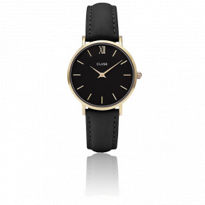 Reloj Minuit Gold Black Black CL30004