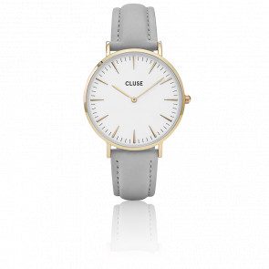 Reloj La Bohème Gold White/Grey CL18414