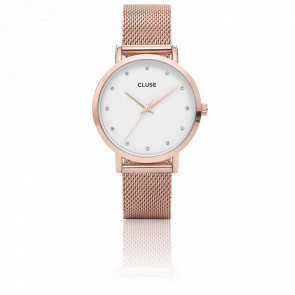 Reloj Pavane Rose Gold Stones CL18303
