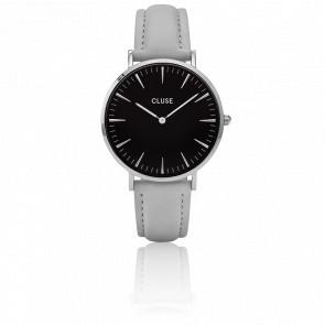 Reloj La Bohème Silver Black/ Grey CL18218