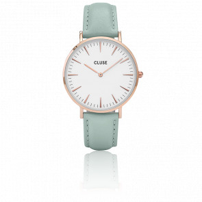 Reloj La Bohème Rose Gold White/Pastel Mint CL18021
