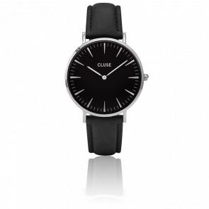 Reloj La Bohème Silver Black/Black CL18201