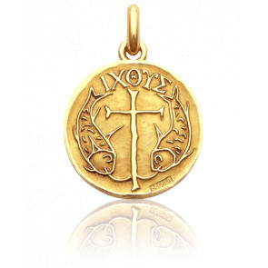 Medalla Peces Cristianos