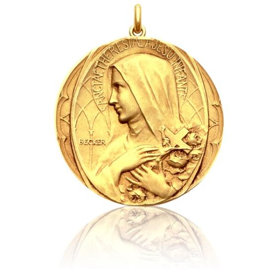 c138c39f227 Medalla de oro Santa Teresa de Jesús - Ocarat